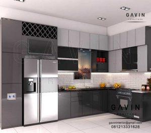 Bikin Kitchen Set Minimalis Modern Di Pamulang Q2976