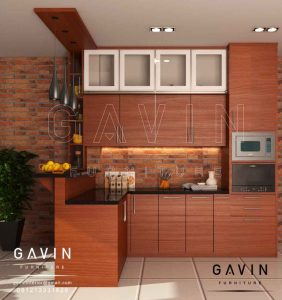 Design Kitchen Set Dan Meja Bar Minimalis Modern By Gavin Q2945