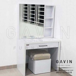 Meja Rias Putih Minimalis Modern