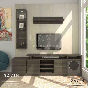design cabinet tv modern minimalis di Sunter Q3134