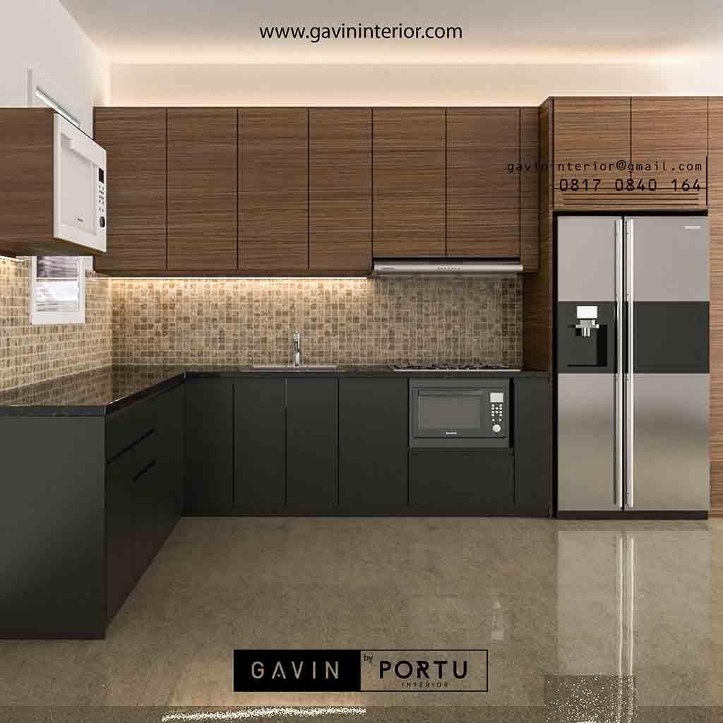 Cabinet kitchen set pasang di mustika karang satria tambun bekasi