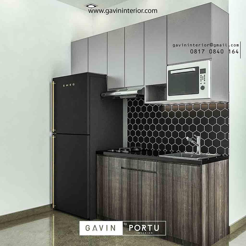 Kitchen Set Jati Minimalis: Kitchen Set Untuk Apartemen Di Jakarta Timur