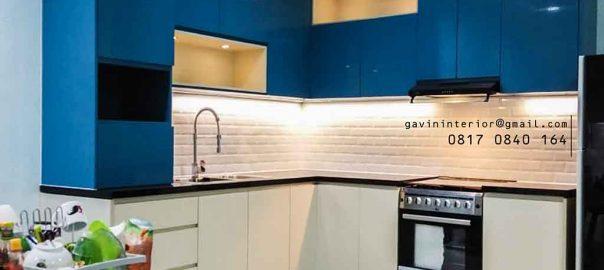 design kitchen set modern kombinasi warna project di pik id3391