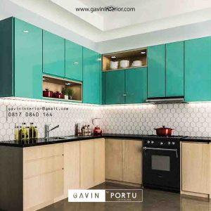 design kitchen set modern minimalis glossy by Gavin Furniture id3391