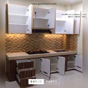 jasa kitchen set custom di jakarta Gavin by Portu id3635