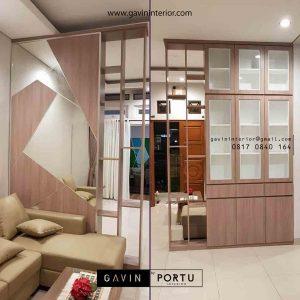 partisi design minimalis modern 2 muka Gavin by Portu id3604