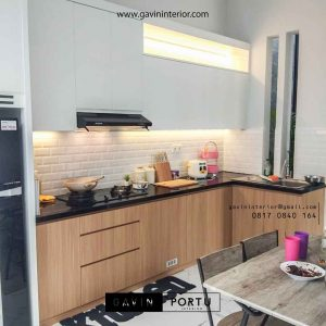design kitchen set bentuk L di Bogor id3696