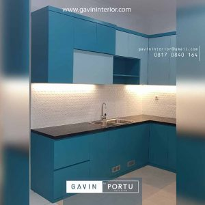 jual kitchen set minimalis finishing duco id3679