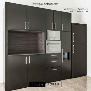 jual lemari dapur kering desain minimalis modern id3447