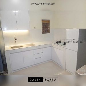 pembuatan kitchen set murah minimalis di Jombang Gavin by Portu id3609