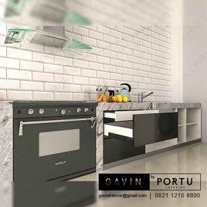 design lemari dapur bawah minimalis Gavin by Portu id3241