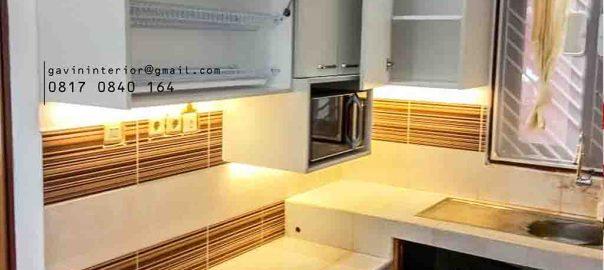 Jasa pembuatan kitchen set letter u minimalis di Ciputat id4102