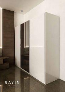 contoh lemari sliding model minimalis modern id3356