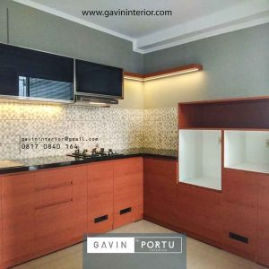 jual kitchen set murah minimalis finishing hpl Gavin by Portu id3941