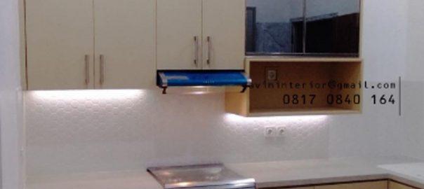 Kitchen Set Dapur Minimalis Letter L di Jl Taman Ubud Loka Lippo Karawaci Tangerang id4307