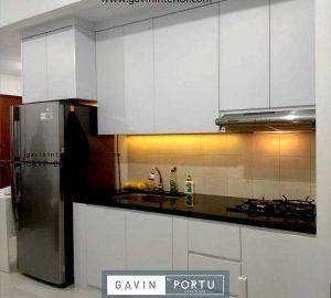 Desain Kitchen Set Minimalis Pasang Sudirman Park Jakarta Utara id4337pt