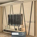 backdrop tv custom model minimalis terbaru 2020